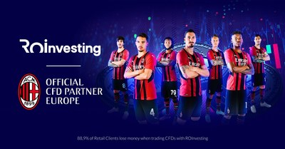 ROInvesting- The Official CFD Partner of AC Milan (PRNewsfoto/Royal Forex LTD)