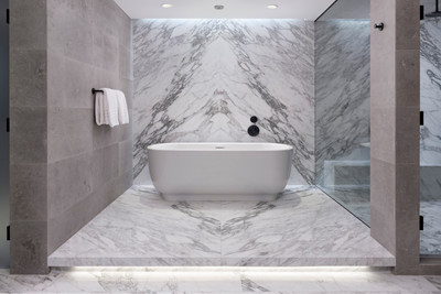 Cuarto de baño de residencia privada