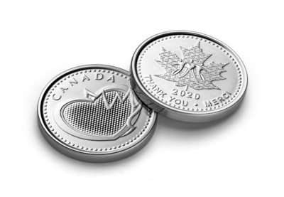 Medalla de Reconocimiento de la Real Casa de la Moneda de Canadá (CNW Group/Royal Canadian Mint)